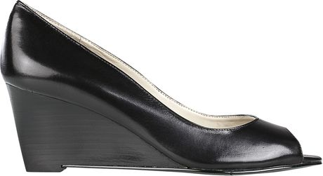 Nine West Powersurge in Black (black leather) - Lyst