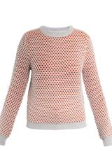 Opening Ceremony Bicolour Honeycomb Sweater - Lyst