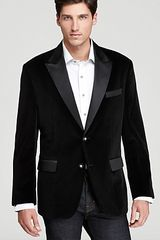 Robert Graham Minstrel Pleated Velvet Jacket - Lyst