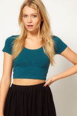 ASOS Collection Asos 90s Crop Top - Lyst