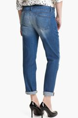 Blue Essence Boyfriend Jeans - Lyst
