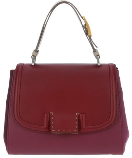 Fendi Shoulder Bag in Purple (bordeaux) - Lyst