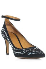 Isabel Marant Stuart Studded Shoes - Lyst