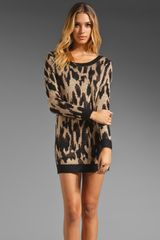 Mink Pink Queens Sweater Dress - Lyst