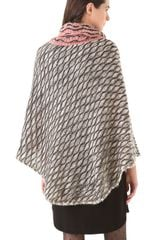 Missoni Wave Poncho in White (ivory) - Lyst