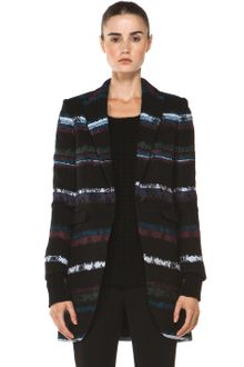 Rag & Bone Smoking Coat in Black - Lyst