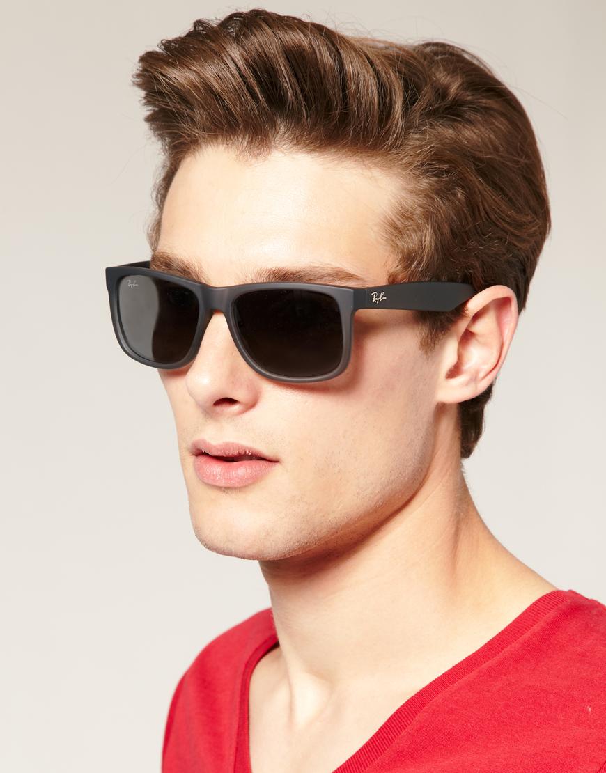 fad4732dc Ray-Ban Wayfarer Sunglasses in Gray for Men - Lyst