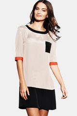 Ted Baker Ted Baker Colour Block Dress - Lyst