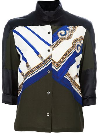 Dries Van Noten Pattern Blouse - Lyst