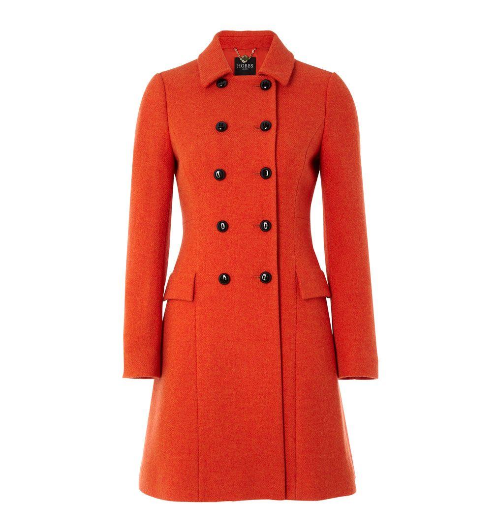 Hobbs Maisie Coat in Red