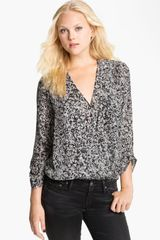 Joie Yogini Layered Surplice Blouse - Lyst