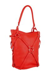 Mcq By Alexander Mcqueen Shoulder bag made of leather.  in Red (b) - Lyst