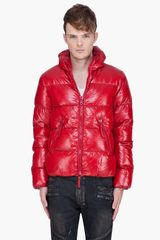 Duvetica Red Classic Vega Hooded Jacket