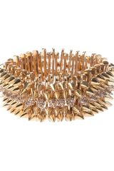 Luxury Fashion Studded Bracelet - Lyst