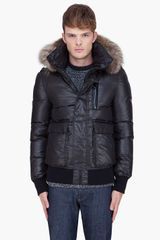 Mackage Black Raccoon Fur Hood Ferris Coat