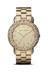 Marc By Marc Jacobs Marci Glitz Bracelet Watch 36mm - Lyst