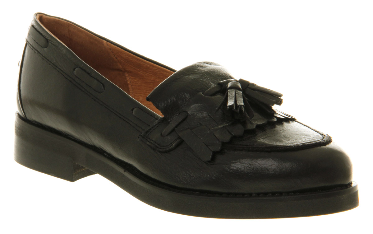 Lyst Office Extravaganza Loafer Black Leather In Black