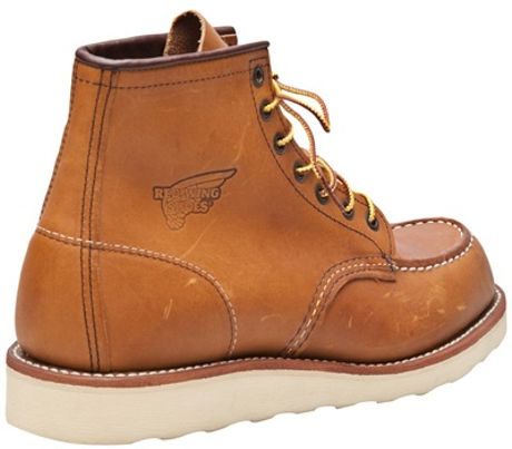 Red Wing Original Duck Boot In Beige For Men Natural Lyst
