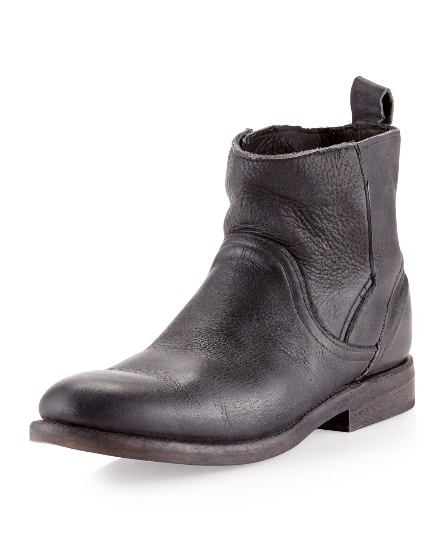 vintage shoe company sulphur boots black in black for