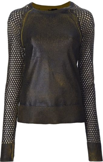 Edun Long Sleeve Sweater - Lyst