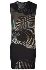 Edun Zebra Print Dress