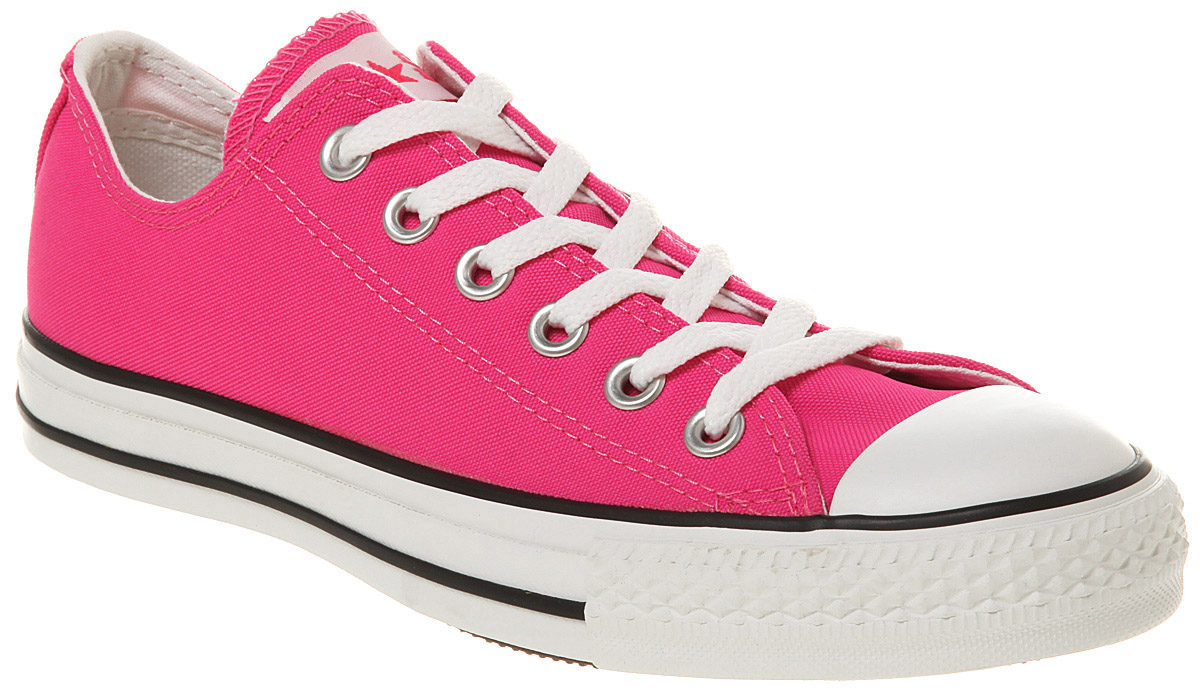 acd8620880fc ... good lyst converse ox low neon pink in pink for men 75e74 f5db7