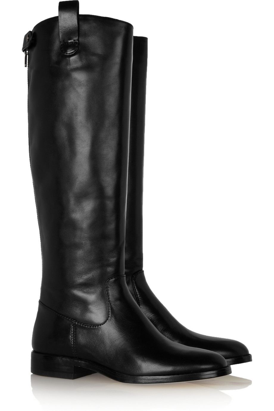 kors by michael kors mariel leather knee boots in black lyst