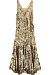 Michael Kors Sequined Midi Dress