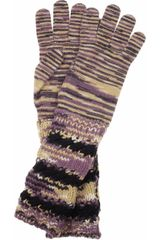 Missoni Cashmereblend Gloves in Multicolor (multicolored) - Lyst