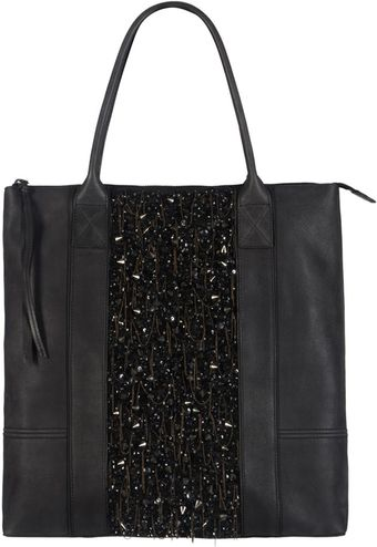 AllSaints Conical Tote Bag - Lyst