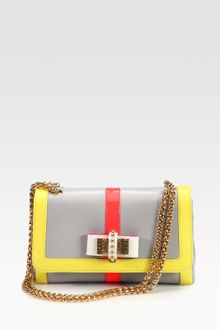 Christian Louboutin Sweet Charity Colorblock Shoulder Bag - Lyst