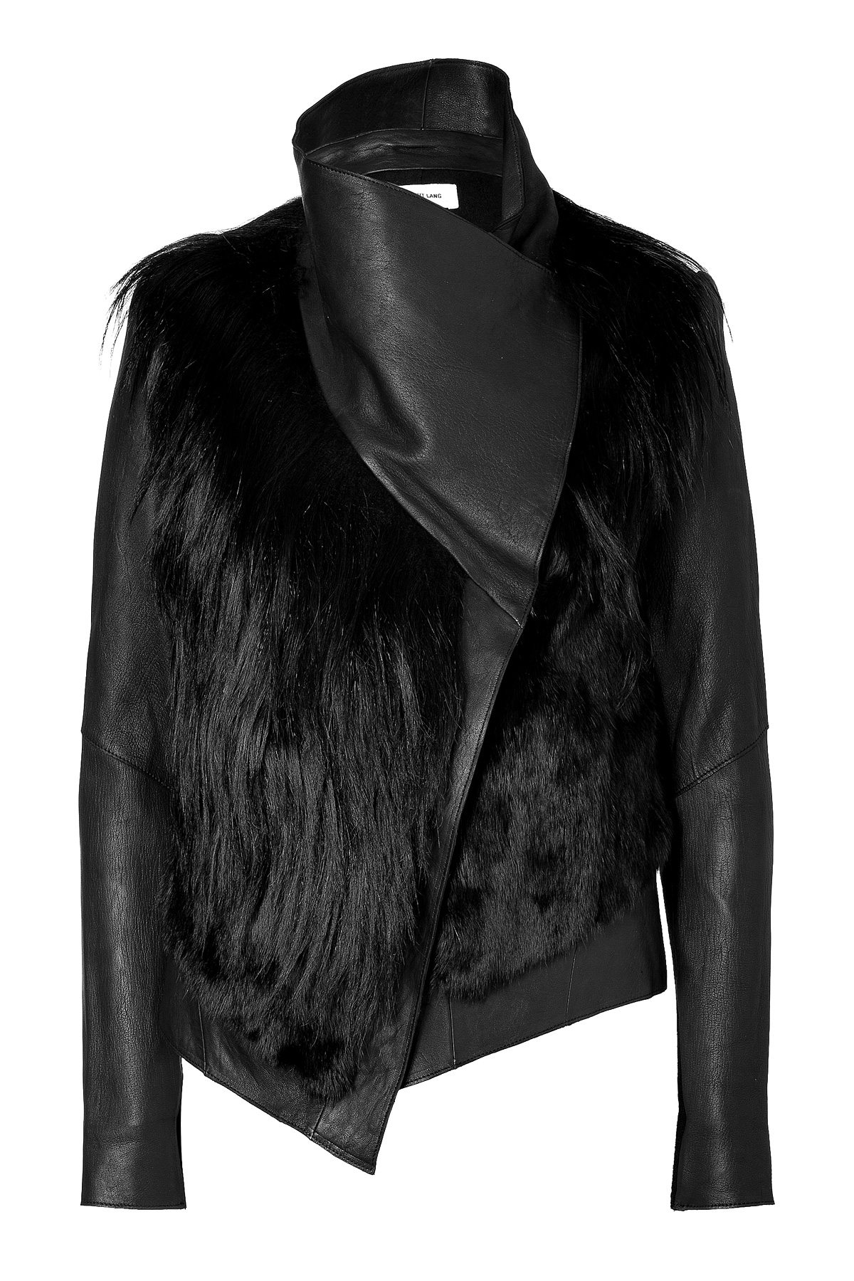More Details Mackage Ingrid Leather Jacket w/ Fur Collar Details Mackage