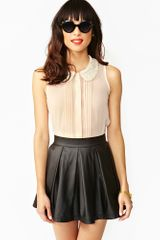 Nasty Gal Sweet Talk Blouse - Lyst