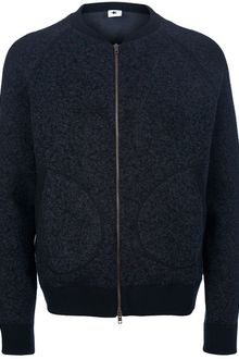 Adam Kimmel Lined Bomber Sweater - Lyst