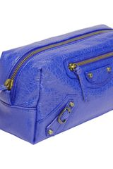 Balenciaga Arena Pencil M Cosmetic Case in Purple - Lyst