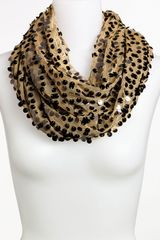 Collection Xiix All Over Sequin Infinity Scarf - Lyst