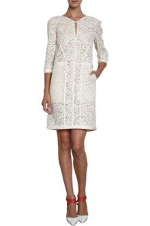 J. Mendel Guipure Lace Dress - Lyst