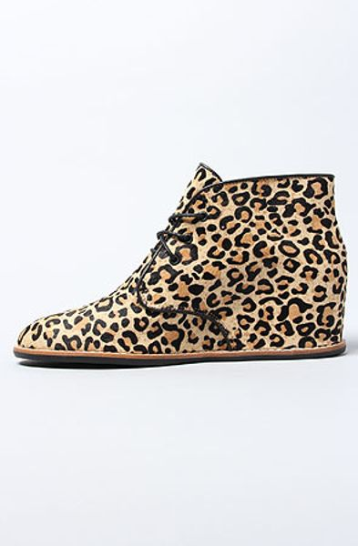 Matiko Shoes The Sharon Shoe In Leopard In Animal Leopard
