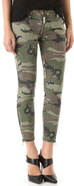 Textile Elizabeth And James Cooper Camo Jeans - Lyst