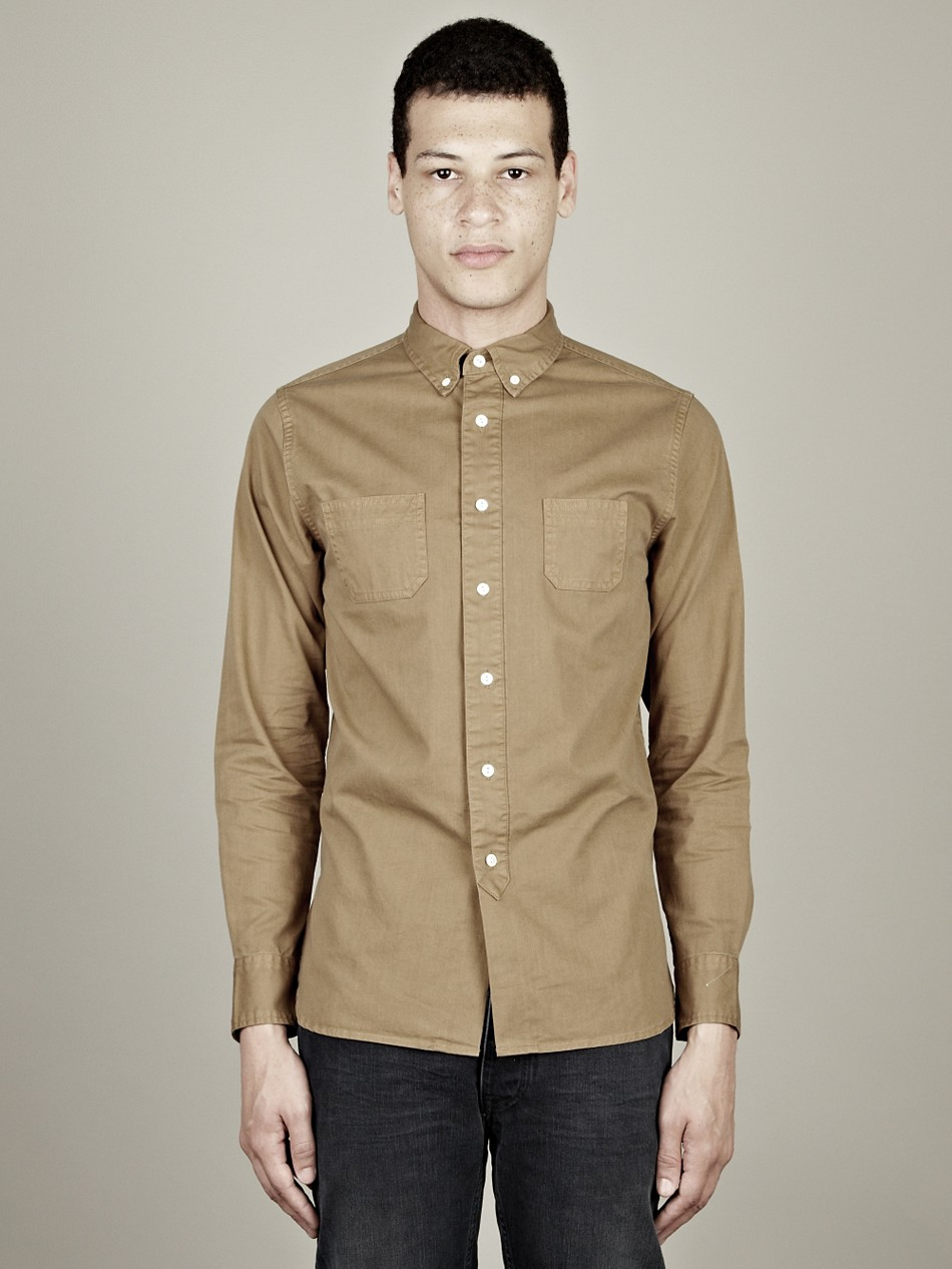 Beige Mens Shirt | Artee Shirt