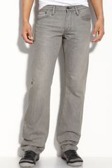 Burberry Brit Straight Leg Jeans - Lyst