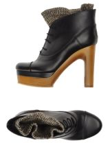 Chloé Ankle Boots in Black (brown) - Lyst