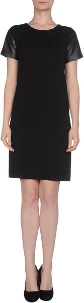 Ck Calvin Klein Short Dress - Lyst