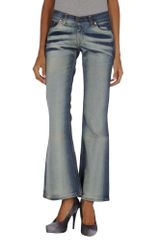 Levi's Denim Trousers - Lyst