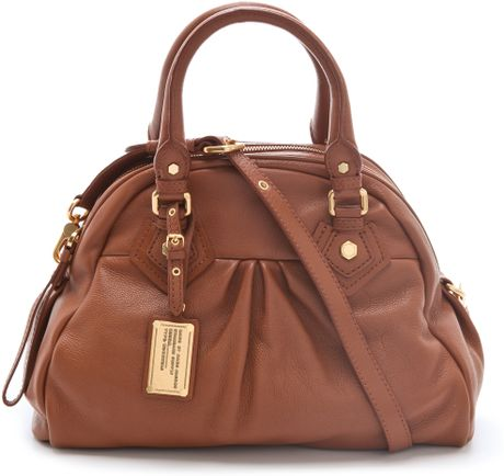 Marc By Marc Jacobs Classic Q Baby Aidan Bag in Brown (cinnamon) - Lyst