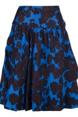 Marc By Marc Jacobs Floral Printed Skirt - Lyst