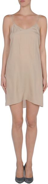 Roberta Furlanetto Short Dress - Lyst