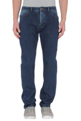 Thinple Denim Trousers - Lyst