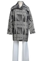 Yigal Azrouel Midlength Jacket - Lyst
