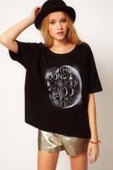 ASOS Collection Asos Tshirt with To The Moon and Back Print